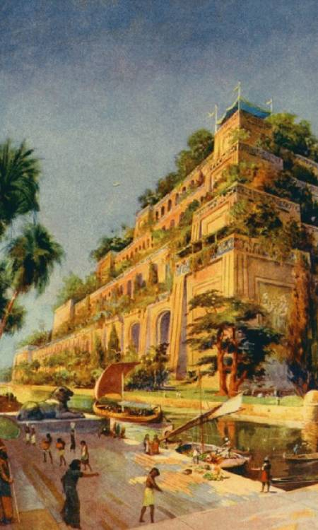 The hanging gardens of Babylon 1 The hanging gardens of Babylon