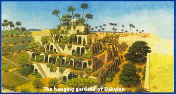 The hanging gardens of Babylon 4 The hanging gardens of Babylon