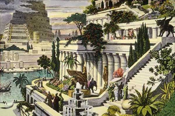 hanging gardens terraces 12 key facts and legends about the Hanging Gardens of Babylon