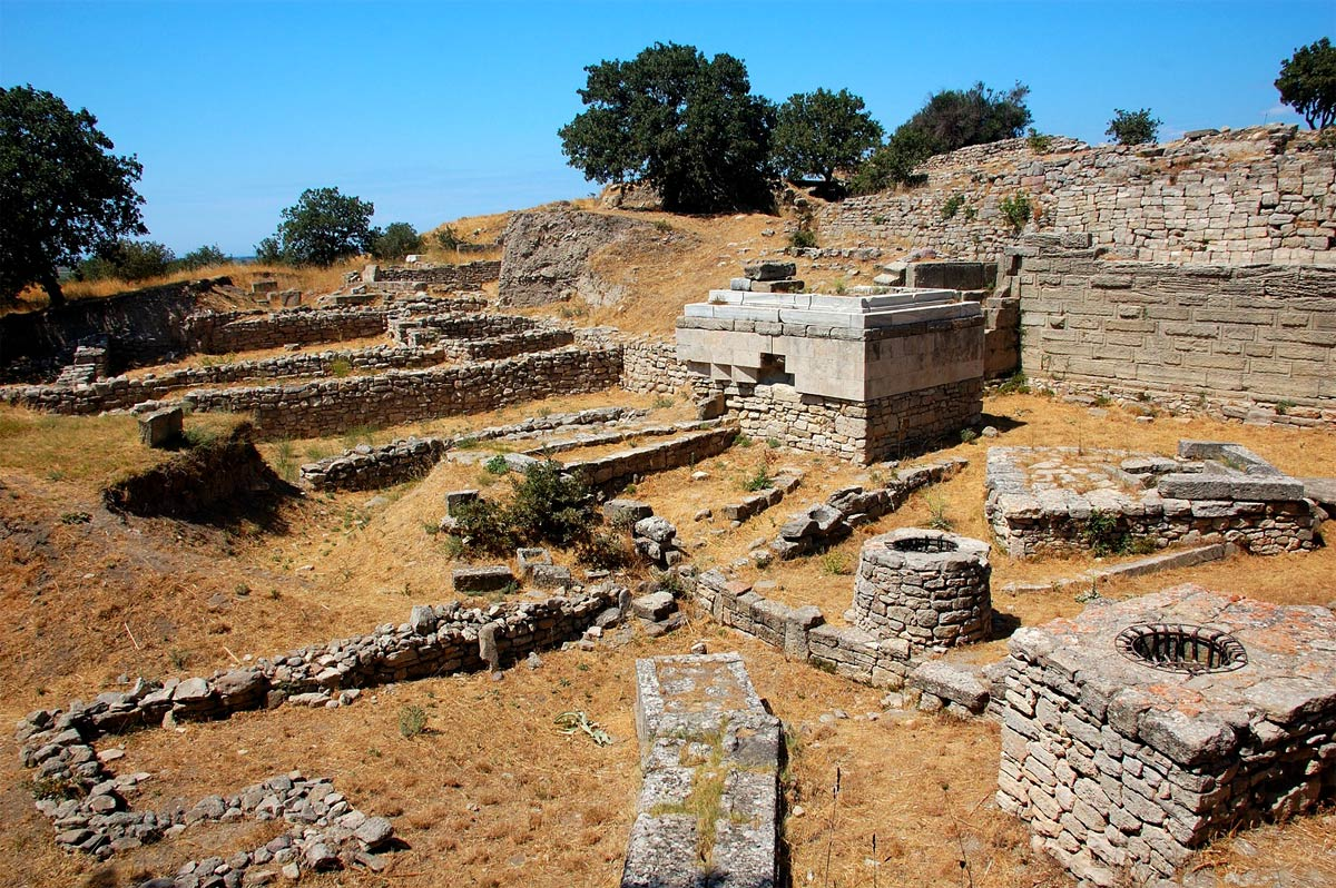 10 Lost City of Troy