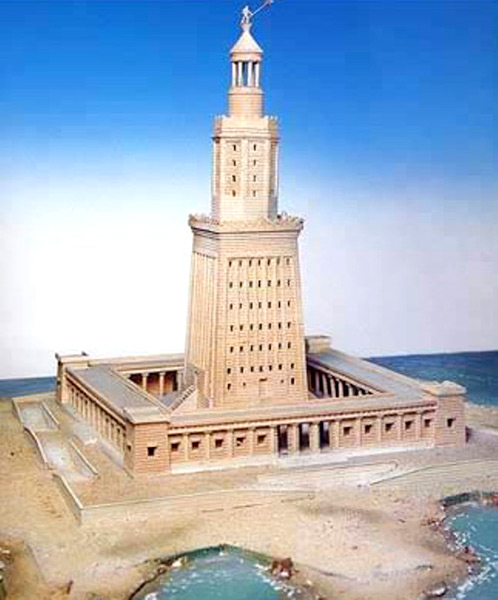 the lighthouse of alexandria 2 Pharos of Alexandria (Lighthouse of Alexandria)