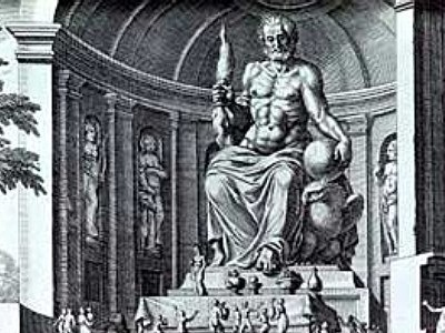 1 c1 The Statue of Zeus at Olympia