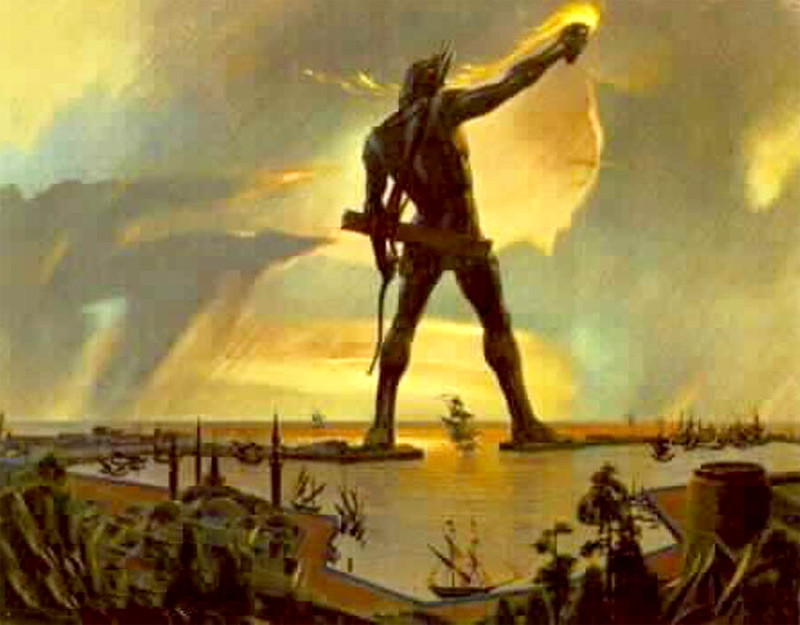 The Colossus of Rhodes 2 Colossus of Rhodes
