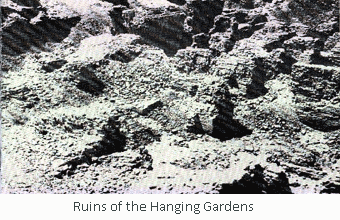ruins of the hanging gardens 12 key facts and legends about the Hanging Gardens of Babylon